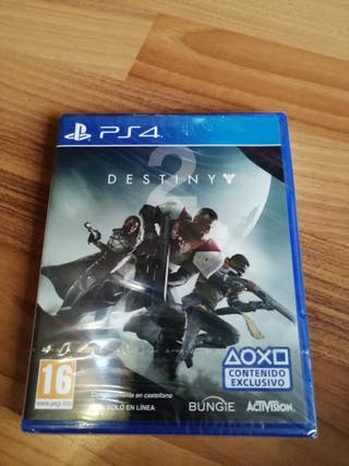 destiny 2 ps4 precintado