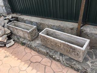 Jardinera cemento 100x28x32