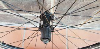 Ruedas bicicleta de carretera.