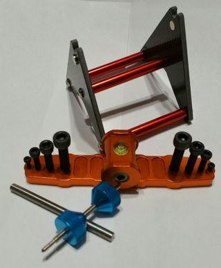 Equilibrador de hélices de fibra de carbono RC 450