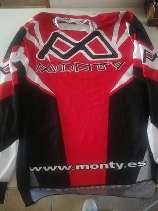 camiseta de cross monty