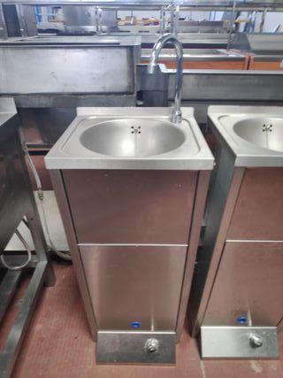 lavamano pedal dos aguas