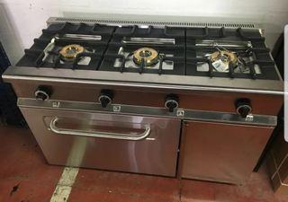 Cocina industrial mas horno