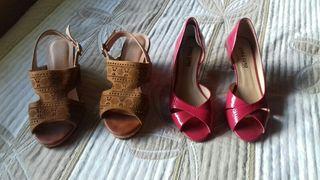 Zapatos mujer Talla 37 (Como Nuevos)