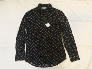 Camisa negra hombre talla M. Massimo Dutti.