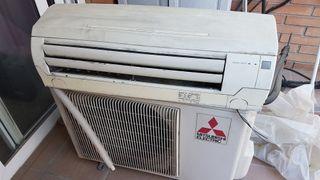 aire acondicionado Mitsubishi.
