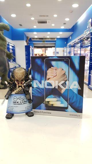 NOKIA 9 PUREVIEW 128GB BLUE PRECINTADO
