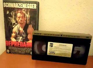 Depredador 1 & 2 VHS