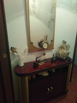 Recibidor Mueble y espejo