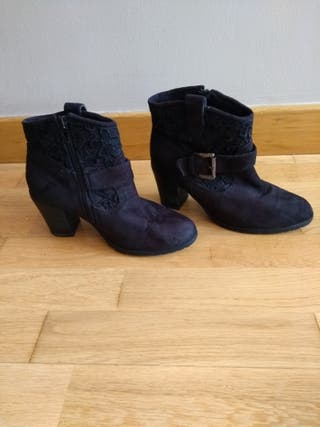 Botas negras,N37