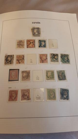 impresionante coleccion de sellos