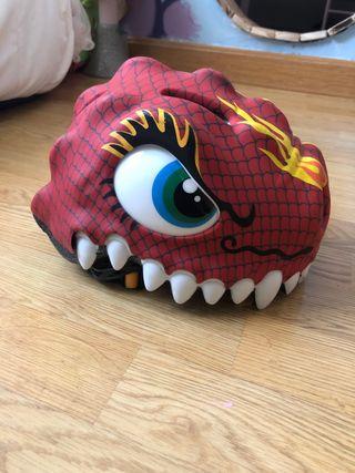 Casco crazy dragón niño