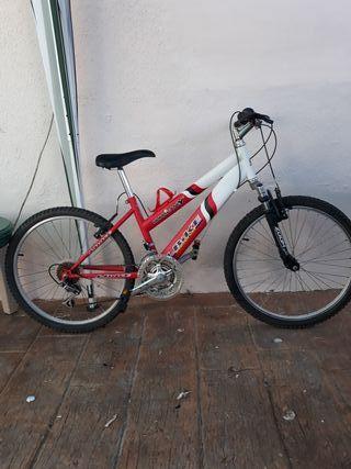 Bicicleta montaña talla mediana