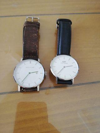 reloj Daniel Weil y heller