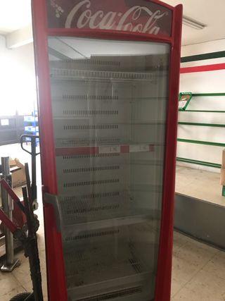 Botellero vertical bebidas frías frigorifico