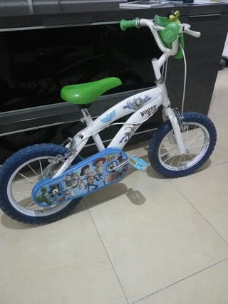 "Bicicleta niño 14"" Toy Story"