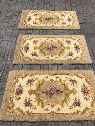 3 alfombras de lana 50€