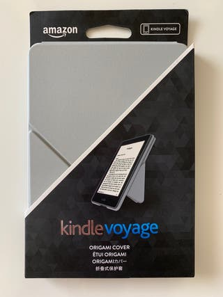 Funda Kindle Voyage ORIGAMI COVER gris