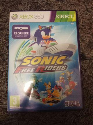 Sonic freeriders. Xbox360