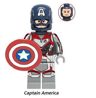 Capitan America Vengadores Endgame Figura Lego Com