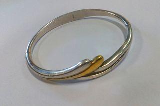 6126e689eed8 Pulsera de oro macizo de segunda mano en WALLAPOP