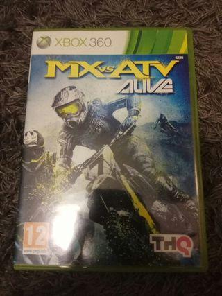 Mx vs ATV alive. Xbox360