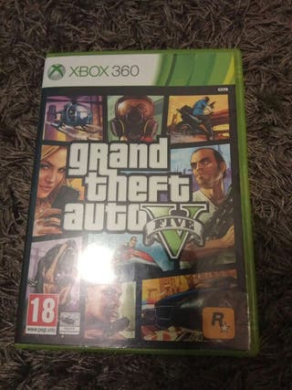 Grand theft auto 5. Xbox 360