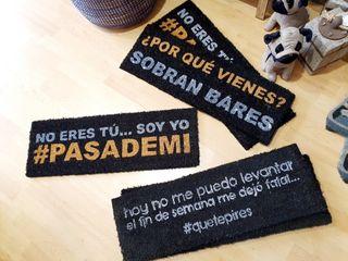 Felpudos / alfombras frases