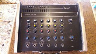 Mesa de mezclas talmus compact amplifier