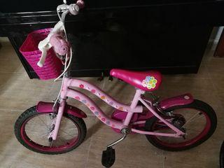 Bicicleta Hello Kitty Rosa