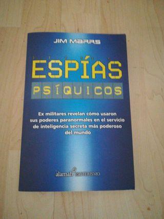 Libro espias psíquicos