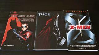Novelas de super heroes