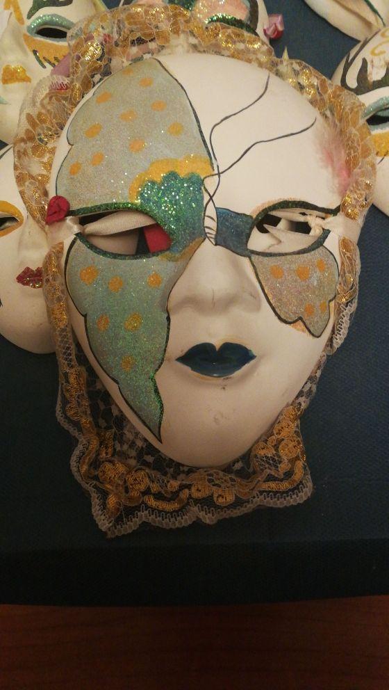 coleccion de 7 máscaras