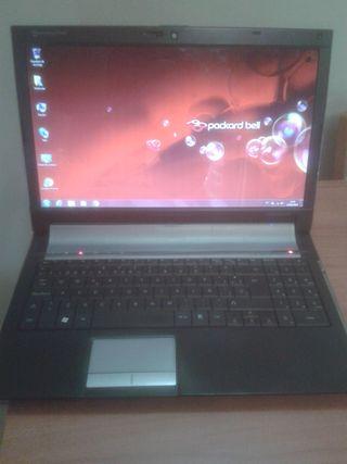Ordenador portatil Packard Bell 4Gb