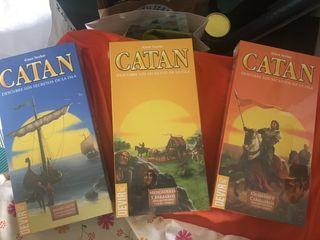 Ampliaciones juego Catan