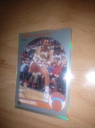 Mark Jackson NBA Hoops 1990 Hermanos Menéndez MINT