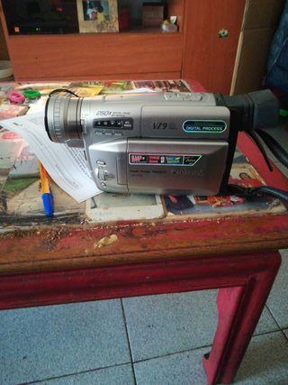 video cámara de cinta