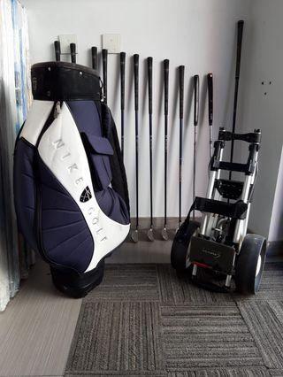 Conjunto palos golf