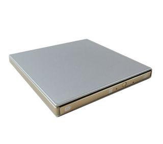 Unidad CD/DVD externa color plateado NUEVA