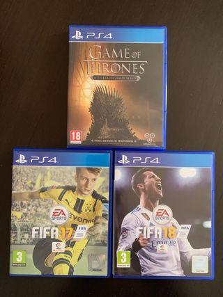 Oferta juegos ps4