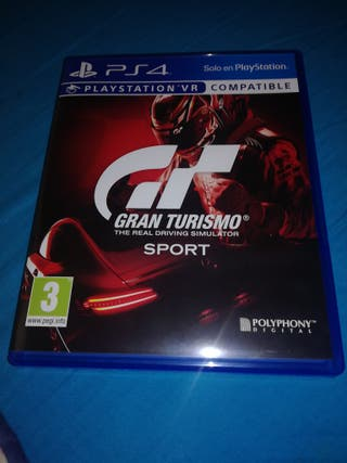Cambio Gran Turismo PS4