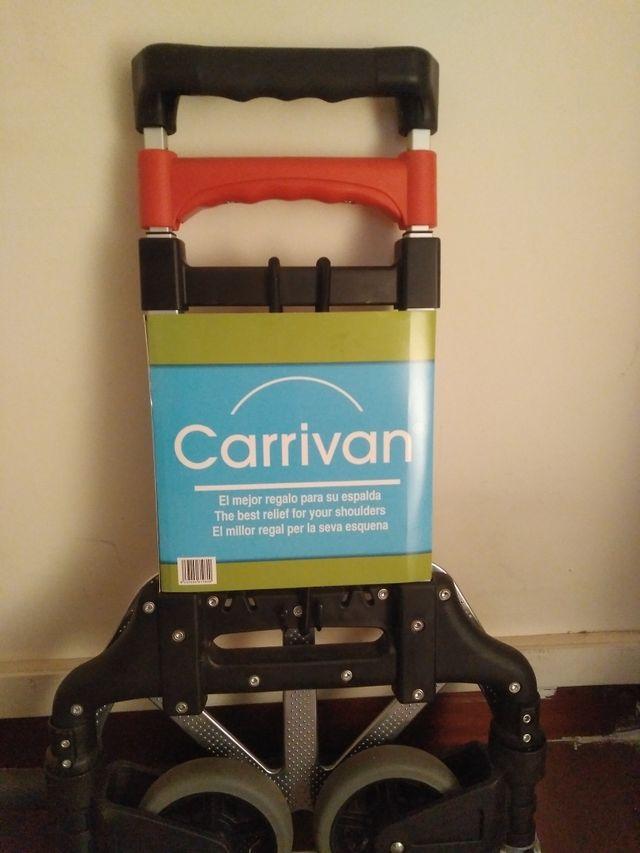 Carretilla plegable carro