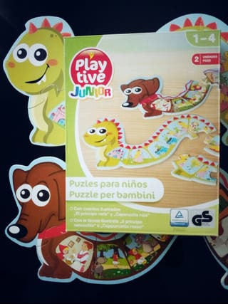 Puzzle madera lidl