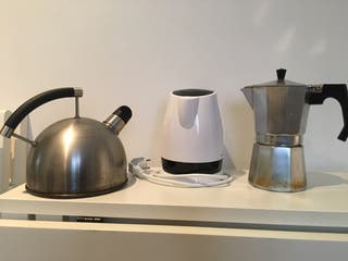 Kettel, cafetera y tetera