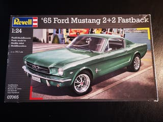 Maqueta Ford Mustang del 65