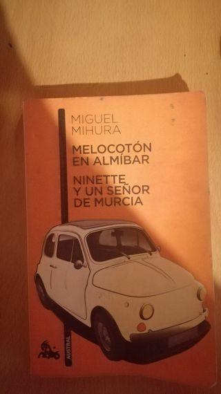 libro MELOCOTÓN EN ALMÍBAR.