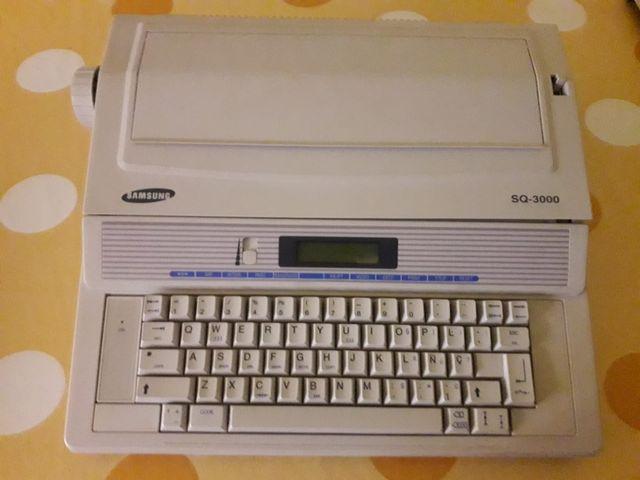 Maquina de escribir samsung SQ3000