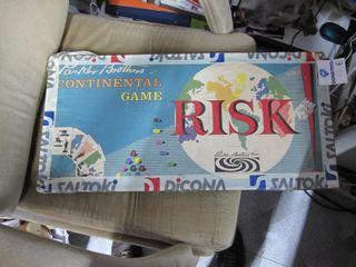 Risk Retro en inglés