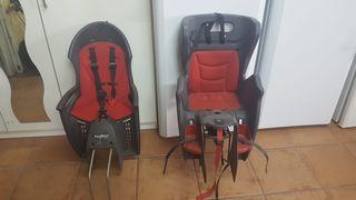 dos sillitas para bici
