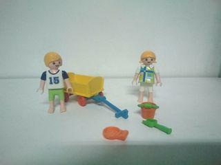 Playmobil niños playa parque